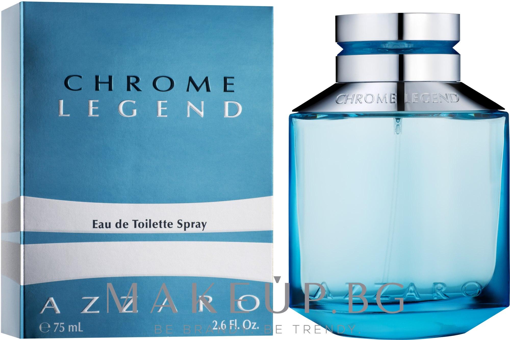 Azzaro Chrome Legend - Тоалетна вода — снимка 75 ml