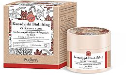Парфюми, Парфюмерия, козметика Дневен био крем за лице с лифтинг ефект 50+ - Farmona Canadian BioLifting Red Maple