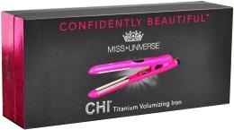 Керамический утюжок с титановым покрытием - CHI Miss Universe Style Illuminate Titanium — снимка N1