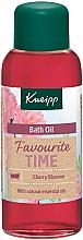 "Парфюмерия и Козметика Масло за вана ""Любимо време"" - Kneipp Favourite Time Cherry Blossom Bath Oil"