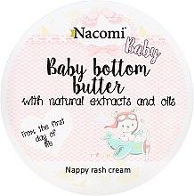 Парфюмерия и Козметика Крем против подсичане за бебета - Nacomi Baby Bottom Butter