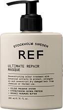 Парфюмерия и Козметика Възстановяваща маска за коса - REF Ultimate Repair Mask