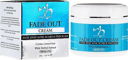 Крем за лице против акне - Hemani Fade Out Cream — снимка N1
