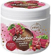 Парфюмерия и Козметика Маска за коса с екстракт от ревен, плодове и масло от шеа - Ovoc Rabarbar Mask