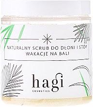Парфюми, Парфюмерия, козметика Скраб за ръце и крака - Hagi Scrub