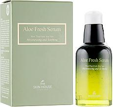 Парфюмерия и Козметика Хидратиращ и успокояващ серум за лице с екстракт от алое - The Skin House Aloe Fresh Serum