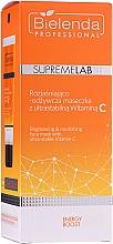Парфюмерия и Козметика Изсветляваща маска за лице с витамин С - Bielenda Professional Supremelab Energy Boost