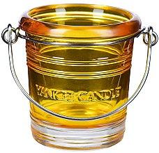 Парфюмерия и Козметика Свещник - Yankee Candle Bucket Holder Yellow