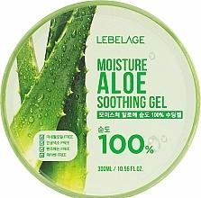 Парфюмерия и Козметика Овлажняващ гел за лице и тяло с алое вера - Lebelage Moisture Aloe 100% Soothing Gel