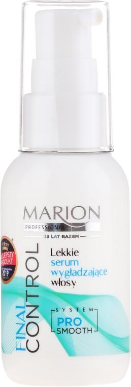 Изглаждащ серум за коса - Marion Final Control