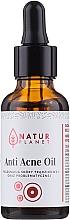 Парфюмерия и Козметика Масло против акне - Natur Planet Anti Acne Oil