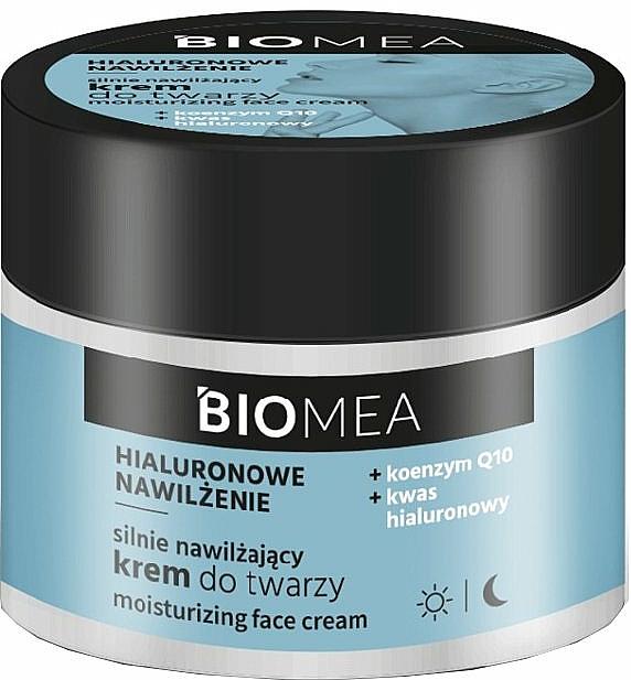 Хидратиращ дневен и нощен крем за лице с коензим Q10 - Farmona Biomea Moisturizing Face Cream