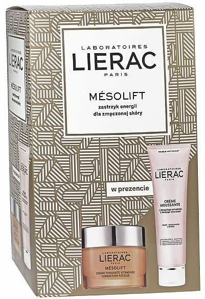 Комплект за лице - Lierac Mesolift (крем/50ml + крем-пяна/150ml)
