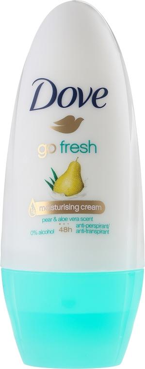 """Рол-он антиперспирант """"Круша и Алое Вера"""" - Dove Go Fresh Pear & Aloe Vera Deodorant"""