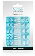 Парфюмерия и Козметика Декориращи лепенки за нокти, 3695 - Neess