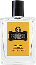 Парфюмерия и Козметика Proraso Wood and Spice - Одеколон