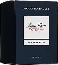 Парфюмерия и Козметика Adolfo Dominguez Agua Fresca Extreme - Тоалетна вода