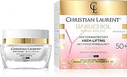 Парфюмерия и Козметика Активно моделиращ крем за лице 50+ - Christian Laurent Bakuchiol Retinol Y-Reshape Lifting Cream