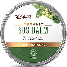 Парфюмерия и Козметика Балсам за тяло - Wooden Spoon SOS Balm Trouble Skin