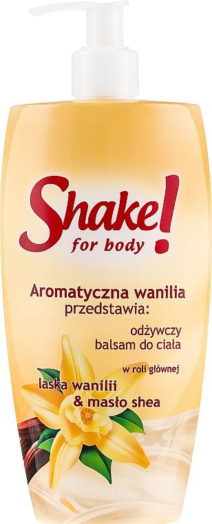 Регенериращ лосион за тяло с ванилия - Shake for Body Regenerating Body Lotion Vanilla