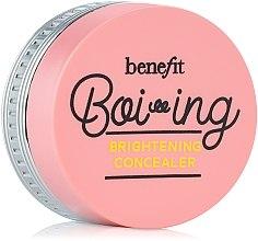 Парфюмерия и Козметика Изсветляващ коректор за лице - Benefit Boi-Ing Brightening Concealer