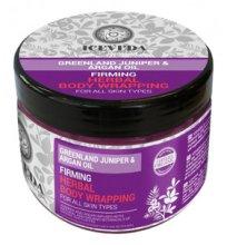 Парфюмерия и Козметика Обвиване за тяло - Natura Siberica Iceveda Greenland Juniper&Argan Oil Firming Herbal Body Wrapping