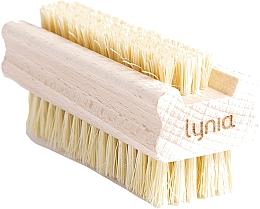 Парфюмерия и Козметика Дървена четка за ръце и нокти - Lynia