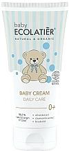 Парфюмерия и Козметика Детски крем за ежедневна употреба - Ecolatier Baby Daily Care