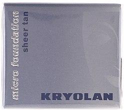 Парфюмерия и Козметика Водоустойчив фон дьо тен мус - Kryolan HD Micro Foundation Sheer Tan
