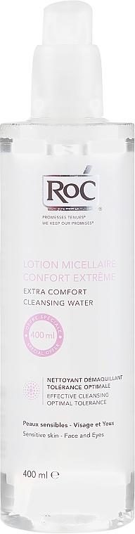 Мицеларен почистващ лосион за лице - RoC Lotion Micellaire Extra Comfort Cleansing Water — снимка N1