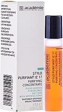 Парфюми, Парфюмерия, козметика Почистващ стик за лице, Ирис-Цинк 17 - Academie Purifying Concentrate IZ 17