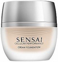Парфюмерия и Козметика Kanebo Sensai Cellular Performance Cream Foundation - Кремообразен фон дьо тен