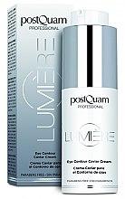 Парфюмерия и Козметика Укрепващ крем за околоочния контур - PostQuam Lumiere Eye Contour Caviar Cream