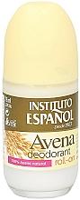 Парфюмерия и Козметика Рол-он дезодорант - Instituto Espanol Avena Deodorant Roll-on