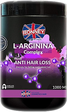 Маска за коса - Ronney L-Arginina Complex Anti Hair Loss Therapy Mask