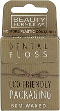 Парфюмерия и Козметика Екологичен конец за зъби с восък - Beauty Formulas Eco Friendly Dental Floss