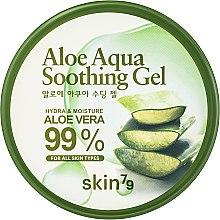 Парфюмерия и Козметика Многофункционален гел - Skin79 Aloe Aqua Soothing Gel (в бурканче)