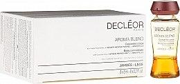 Парфюмерия и Козметика Концентрат от етерични масла за тяло - Decleor Aroma Blend Body Concentrate Legs