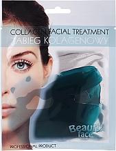 Парфюмерия и Козметика Колагенова терапия за лице с морски микроелементи - Beauty Face Collagen Hydrogel Mask