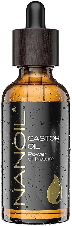 Рициново масло - Nanoil Body Face and Hair Castor Oil