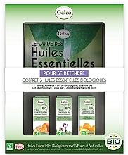 """Парфюмерия и Козметика Комплект етерични масла """"Релакс"""" - Galeo To Help You Relax Gift Set (ess/oil/3x10ml)"""