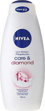 Крем-душ гел - Nivea Care & Diamond Cream Shower Oil