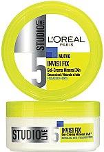 Парфюми, Парфюмерия, козметика Моделиращ крем-гел за коса - L'Oreal Paris Studio Line Invisi Fix Mineral Gel Cream