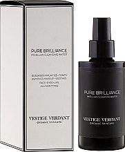 Парфюмерия и Козметика Мицеларна вода за лице - Vestige Verdant Pure Brilliance Micellar Cleansing Water