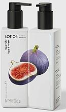 Парфюмерия и Козметика Подхранващ лосион за ръце и тяло със смокиня и теменужка - Kinetics Fig & Violet Lotion