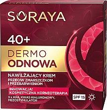 Парфюми, Парфюмерия, козметика Дневен крем за лице - Soraya Dermo Odnowa 40+ Cream SPF15