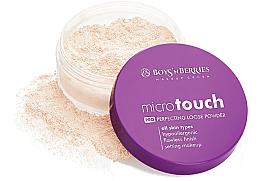 Парфюми, Парфюмерия, козметика Насипна пудра за лице - Boys'n Berries Loose Powder Micro Touch