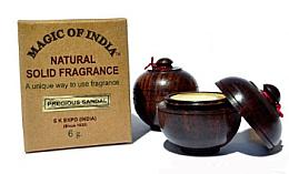 """Парфюми, Парфюмерия, козметика Натурален парфюмен крем с аромат на сандалово дърво """"Precious Sandal"""" - Shamasa"""
