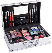 Парфюми, Парфюмерия, козметика Куфар за грим - Cosmetic 2K Fabulous Beauty Train Case Complete Makeup Palette