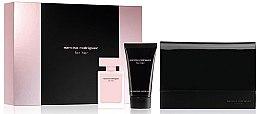 Парфюми, Парфюмерия, козметика Narciso Rodriguez For Her - Комплект (парф. вода/50ml + лосион за тяло/50ml + козметична чанта)